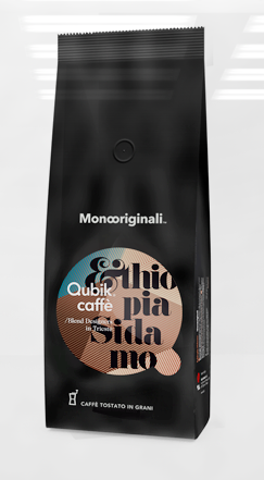 Qubik Caffé Ethipia Sidamo - zrnková káva 1 kg