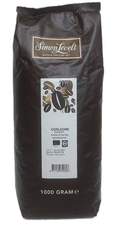 Simon Levelt Corleone - Very dark roast - BIO zrnková káva 1 kg