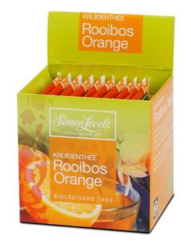 Simon Levelt Rooibos Orange - sáčky 10 ks