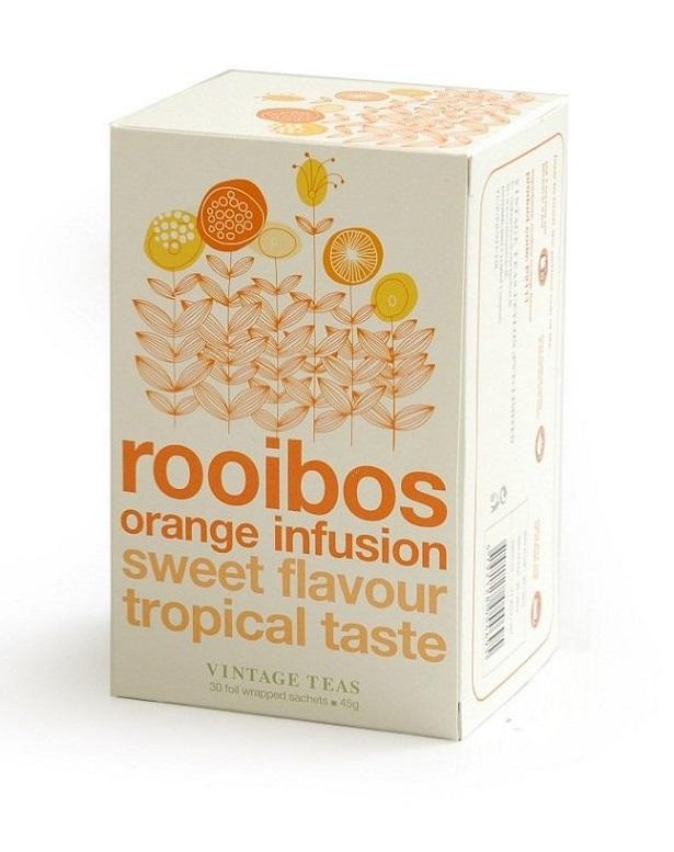 Vintage Teas Rooibos s pomerančem - sáčky 30 x 1,5g
