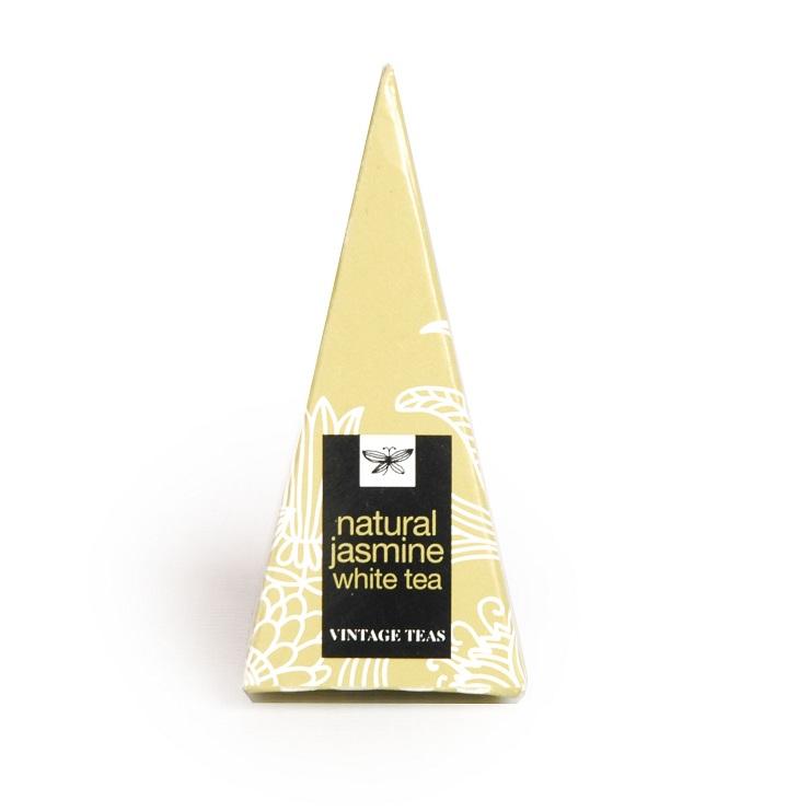 Vintage Teas Bílý čaj s jasmínem - BOX pyramidy 30 x 2,5g