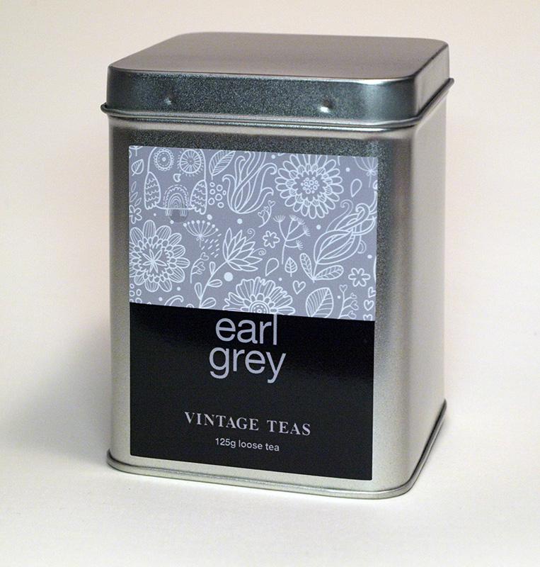 Vintage Teas Černý čaj Earl Grey - sypaný 125g