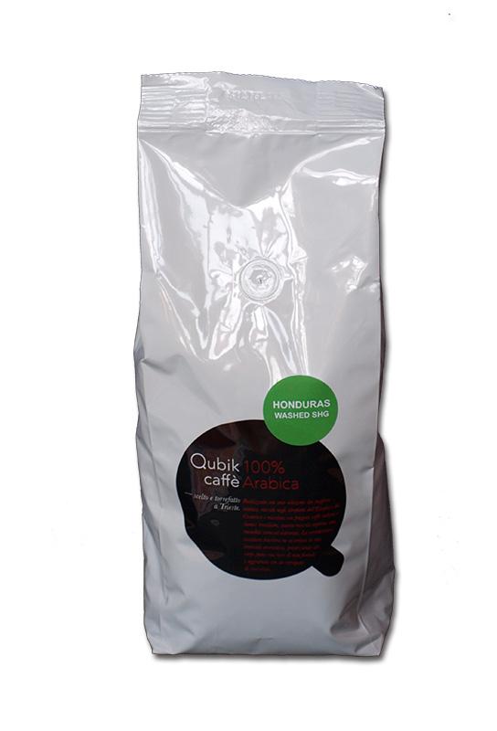 Qubik Caffé Honduras - zrnková káva 1 kg