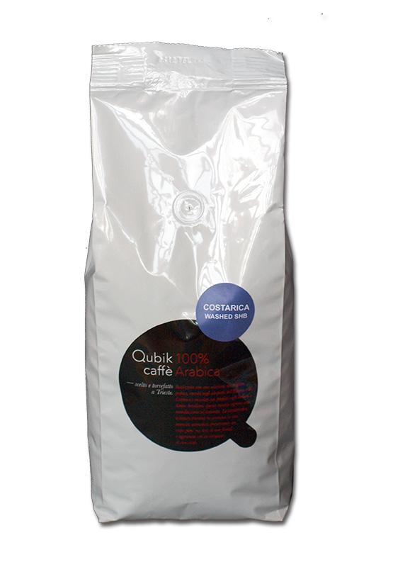 Qubik Caffé Costa Rica - zrnková káva 1 kg