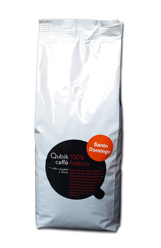 Qubik Caffé Santo Domingo - zrnková káva 1 kg