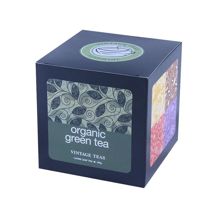 Vintage Teas BIO Zelený čaj - sypaný Premium 100g