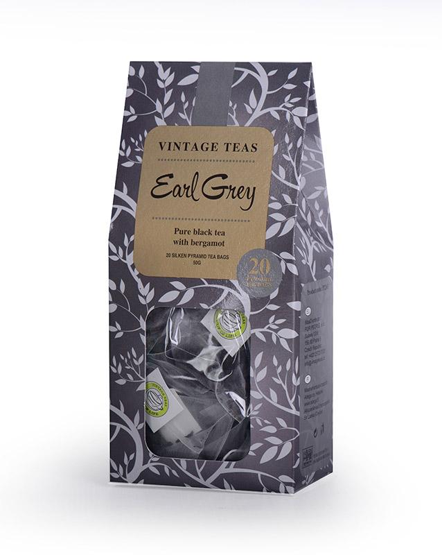 Vintage Teas Černý čaj Earl Grey - pyramidy 20ks