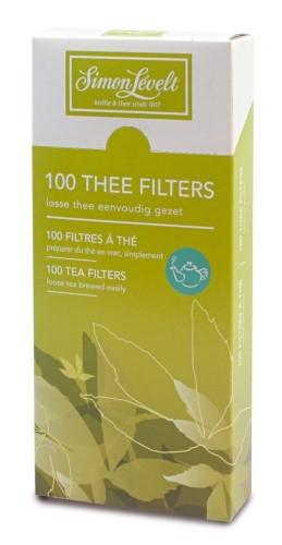 Simon Lévelt Filtry na čaj - (velikost L) - 100 ks