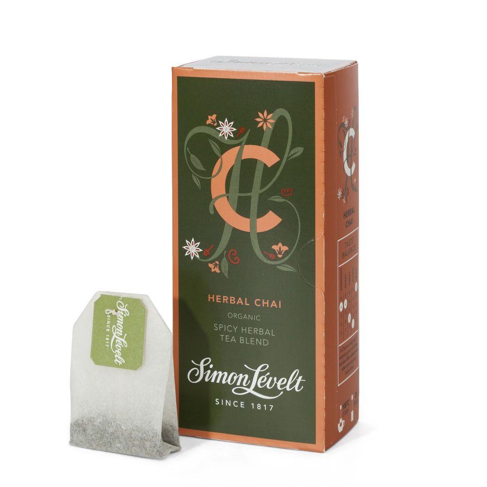 Simon Levelt Herbal Chai - směs bylin a koření (20 x 2 g)