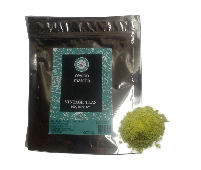 Vintage Teas Matcha Ceylon 100 g