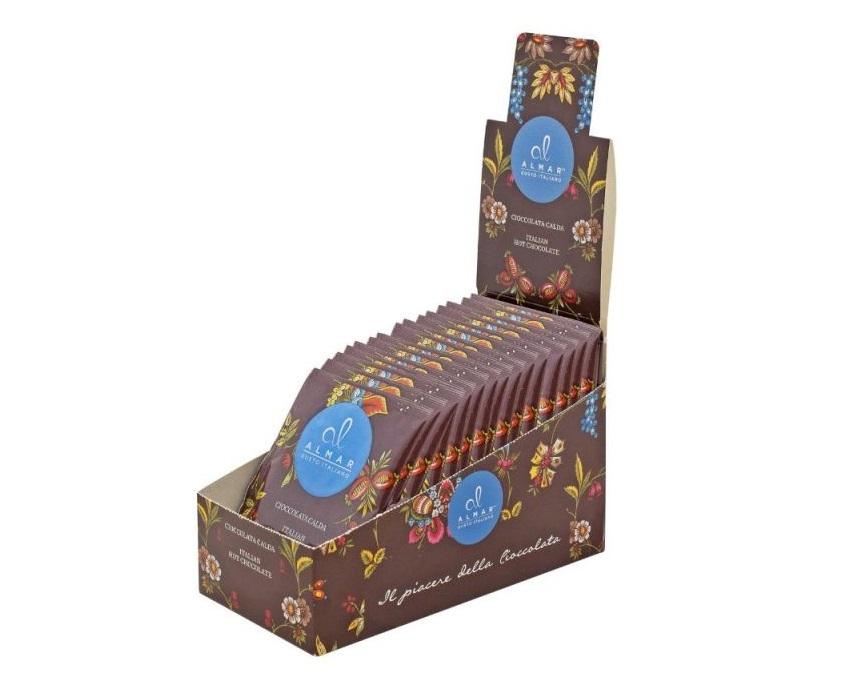 Almar Horká čokoláda s lískovými oříšky - sáček 30g
