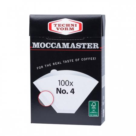 Moccamaster papírové filtry vel.4 -100 ks