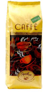 Brasil Oro Extrabar - 1 kg zrnková káva