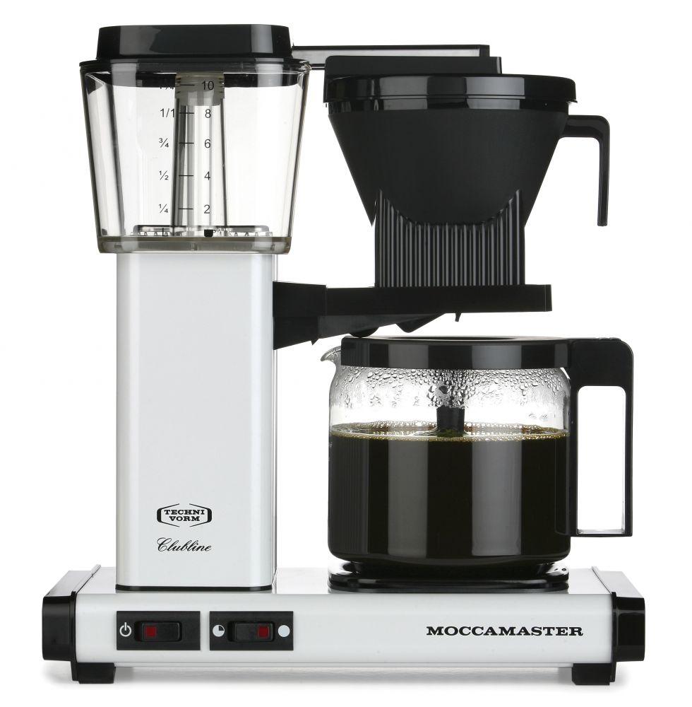 Moccamaster KBG 741 AO bílý - Kávovar na filtrovanou kávu
