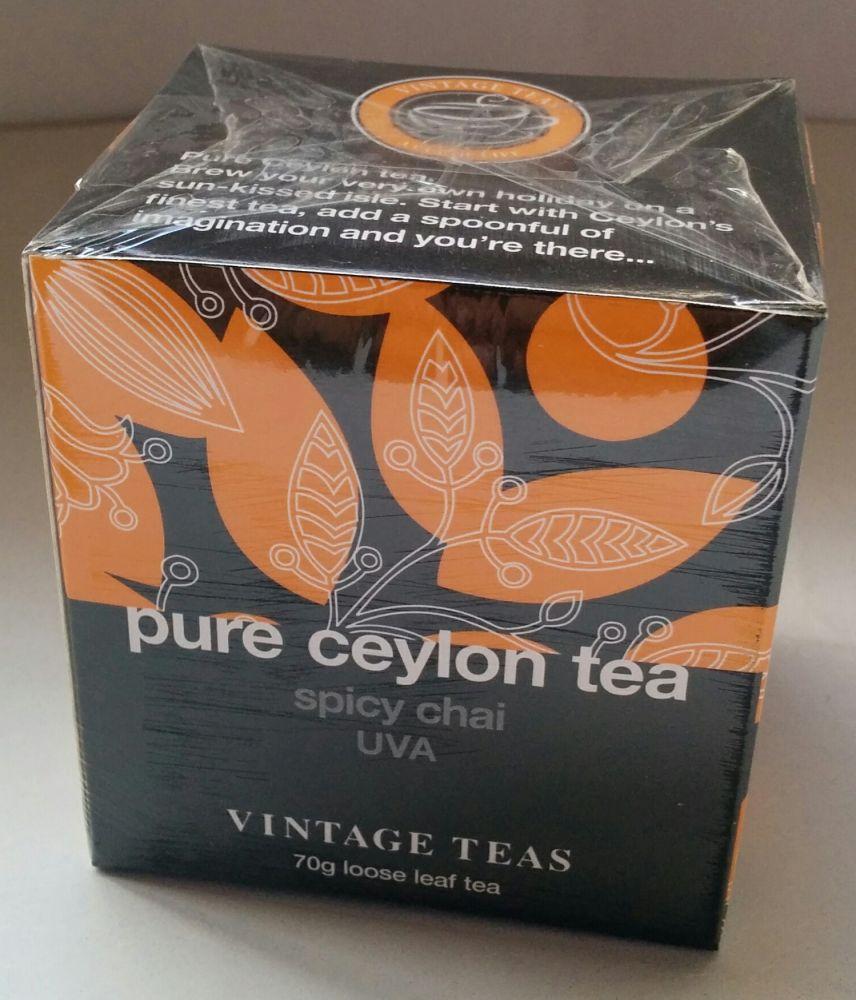 Vintage Teas Spicy Chai sypaný 70g