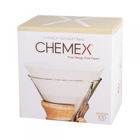 Chemex papírové filtry kulaté - 6,8,10 šálků (100 ks)
