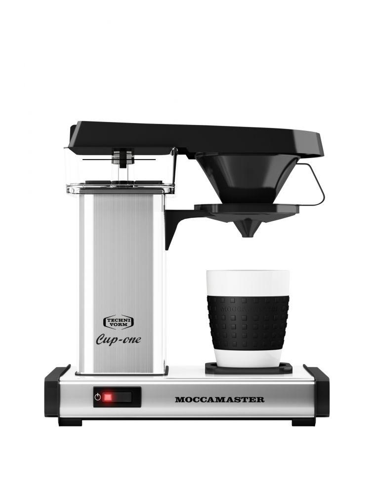 Moccamaster One Cup polished/leštěný kov - Kávovar na filtrovanou kávu