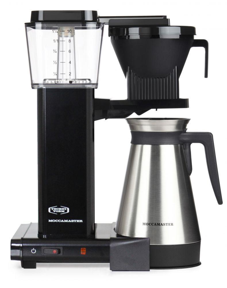 Moccamaster KBGT 741 AO černý - Kávovar na filtrovanou kávu (s termo nádobou)